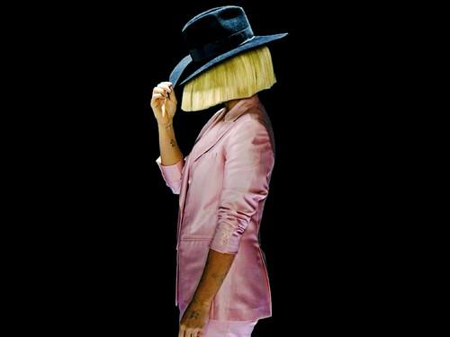 Sia fond d'écran titled Sia SNL fonds d'écran