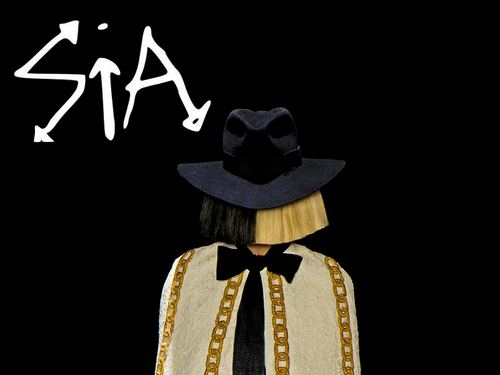 Sia wallpaper containing a snap brim hat called Sia SNL wallpapers