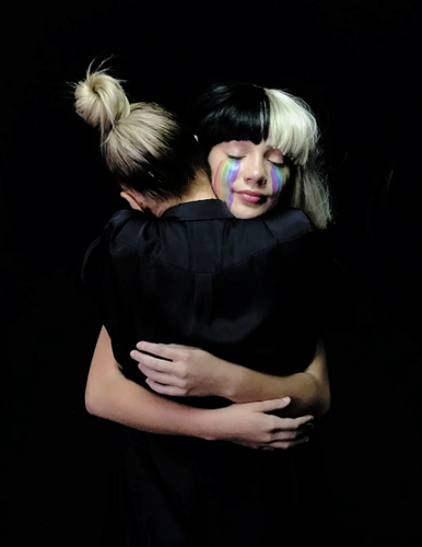 Sia fond d'écran entitled Sia and Maddie