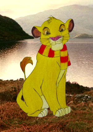 Simba in Gryffindor