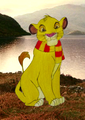 Simba in Gryffindor - the-lion-king photo