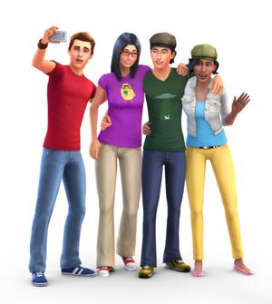 Sims 4 Renders