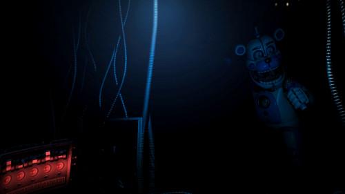 Five Nights at Freddy's (Пять ночей с Фредди) Обои titled Sister location: Steam page