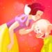 Snow White and Dopey - disney-princess icon