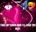 So baby, take my hand and I'll lead the way. - happy-tree-friends photo