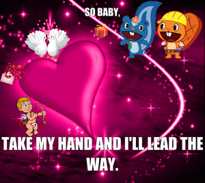 So baby, take my hand and I'll lead the way.