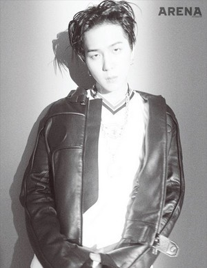 Song Min Ho brings out his swag for 'Arena Homme Plus'