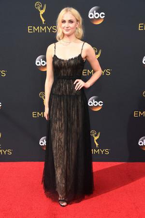 Sophie Turner @ the 2016 Emmy Awards