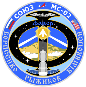 Soyuz MS 02 Mission Patch