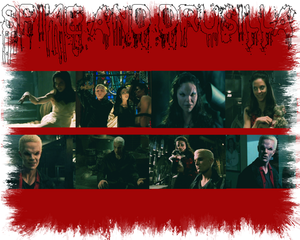 Spike/Drusilla wallpaper
