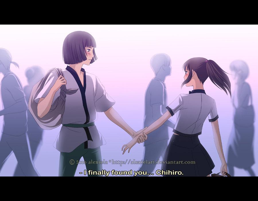 Spirited Away 2: Haku reunited with Chihiro