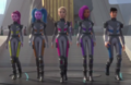 Squad goals. Barbie's squad is way resfriador, refrigerador than TSwift's squad.