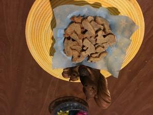 écureuil biscuits, cookies