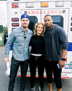 Stephen, Emily and David - BTS