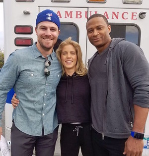 Stephen, Emily and David - BTS