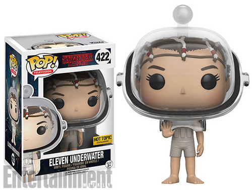 Stranger Things 바탕화면 entitled Stranger Things - Funko Pop Vinyls - Eleven Underwater