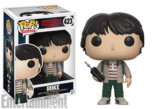 Stranger Things achtergrond titled Stranger Things - Funko Pop Vinyls - Mike Wheeler