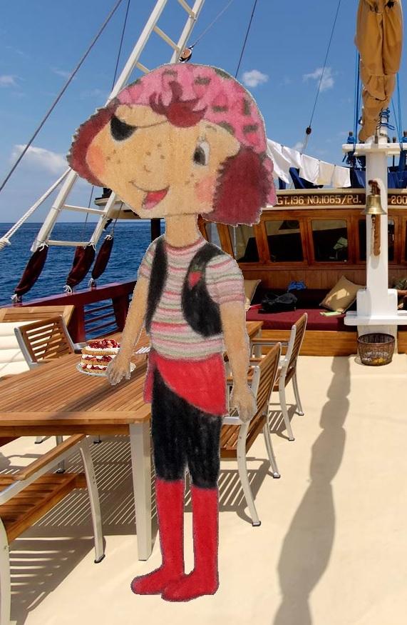 stroberi shortcake Pirate