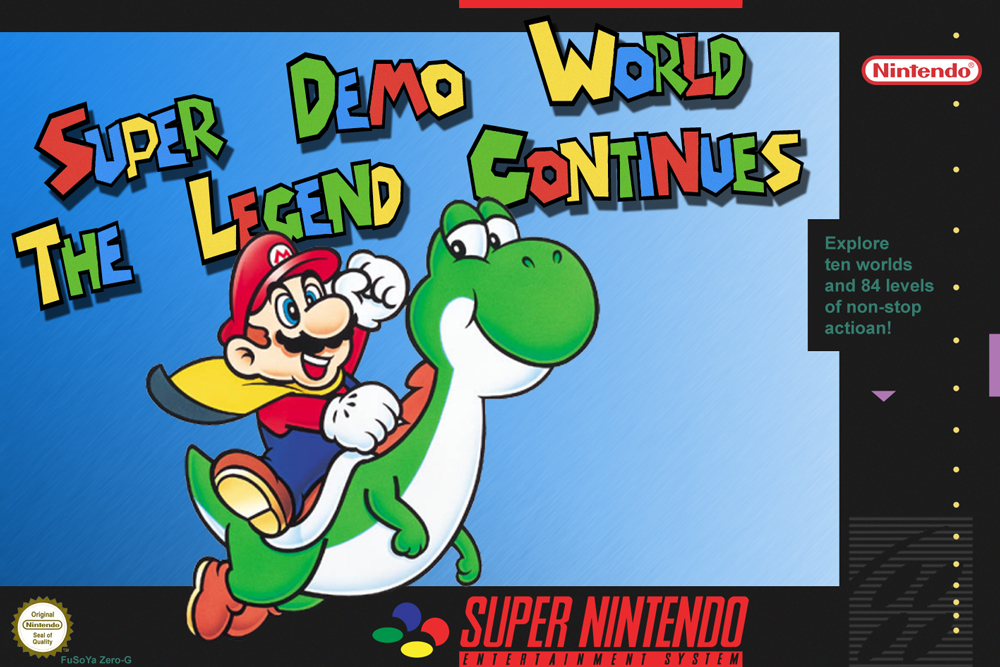 mario and luigi images super demo world the legend continues cover