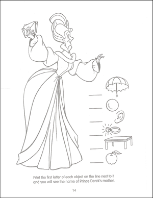 Swan Princess Funtime Activity Book page 14