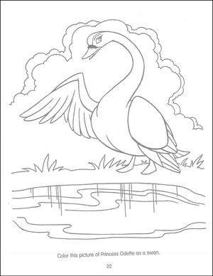 Swan Princess Funtime Activity Book page 22
