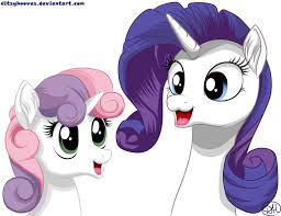 SweetieBelle and Rarity