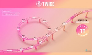 TWICE Drops Time tafel, tabel For October Comeback