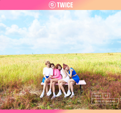 Twice (JYP Ent) پیپر وال called TWICE cuddle up in yet another teaser image for 'TWICEcoaster: Lane 1'