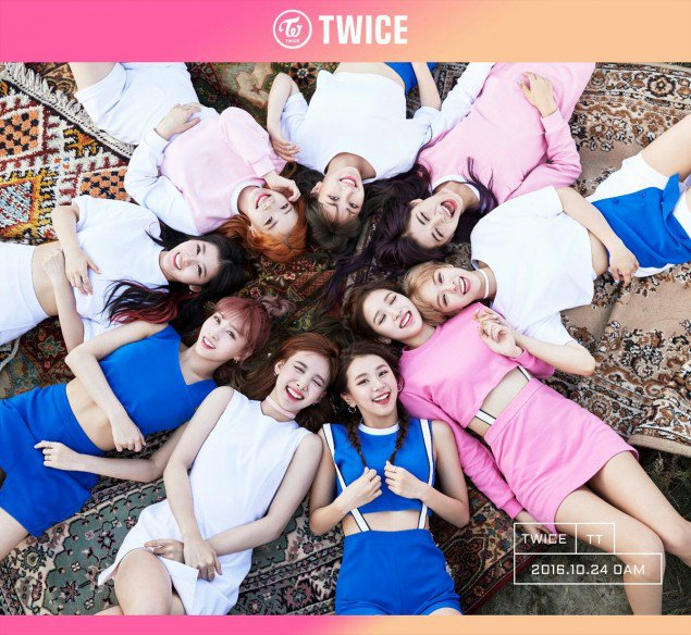 TWICE flash pretty smiles in new group teaser image for comeback!