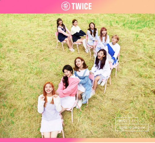 Twice (JYP Ent) Обои called TWICE flash pretty smiles in new group teaser image for comeback!