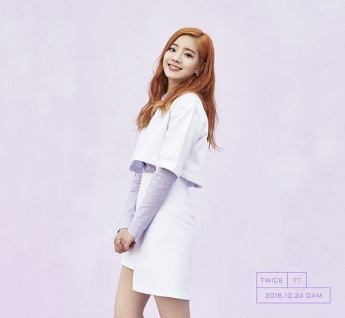 Twice (JYP Ent) wallpaper possibly with a well dressed person, a chemise, and a koktil, koktail dress entitled TWICE teaser gambar for 'TWICEcoaster: Lane 1'