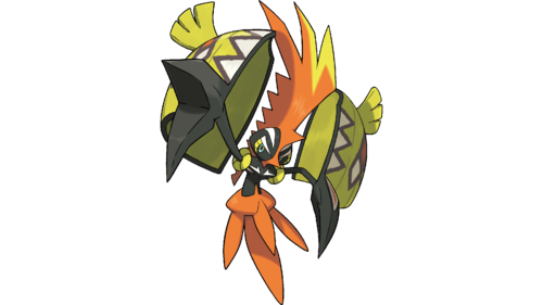Pokémon wolpeyper called Tapu Koko