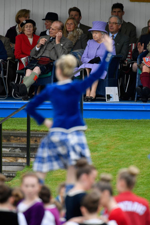 The 2016 Braemar Highland Gathering