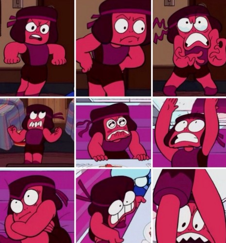 steven universe fondo de pantalla entitled The 9 Stages of Being Mad
