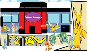 The Entrance to Pokemon Themepark