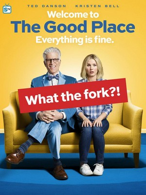 The Good Place - Season 1 Poster - What the fork?!