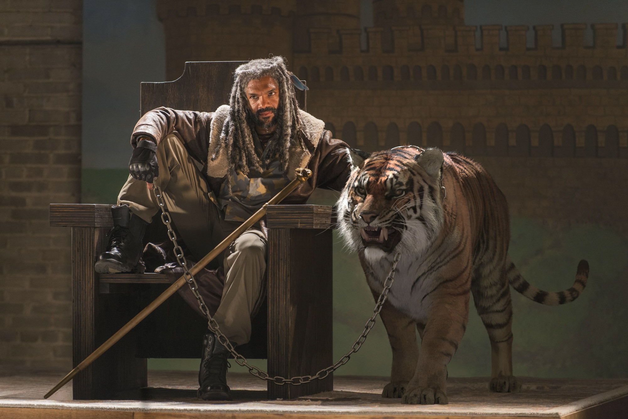 The Walking Dead - Ezekiel and Shiva