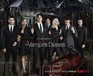 The vampire diaries season 8 poster