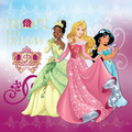 Tiana, Aurora and ジャスミン