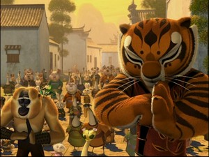 tigre, tigress - Kung Foo Panda