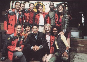 Time Force and Lightspeed Rescue Power Rangers