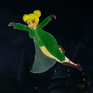 Tinkerbell in Slytherin