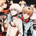 Tokyo Ghoul - Kaneki and Hide (Best Friends)