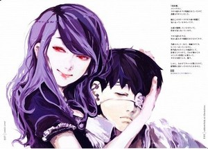 Tokyo Ghoul (Manga) - Rize and Ken