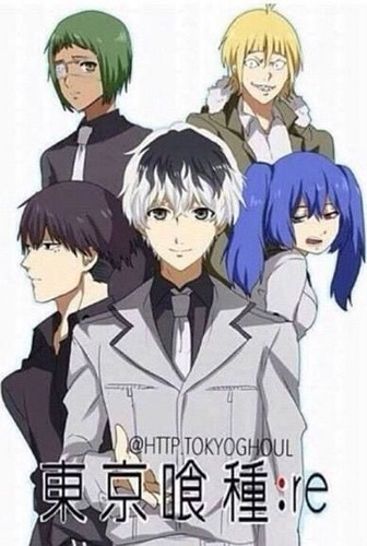 Tokyo Ghoul (Токийский гуль) Обои containing Аниме called Tokyo Ghoul:re