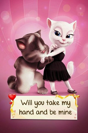 Tom propose to Angela💏👫