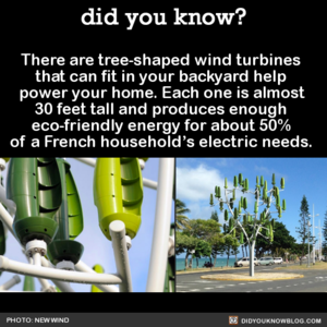 Tree-Shaped Wind Turbines