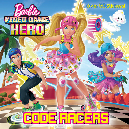 Barbie films achtergrond containing anime titled Video Game Hero Book Code Racers