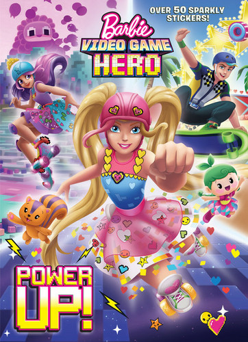 Barbie films achtergrond possibly containing anime titled Video Game Hero Book Power Up