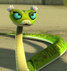 Childhood Animated Movie Characters fond d'écran entitled Viper- Kung Foo Panda